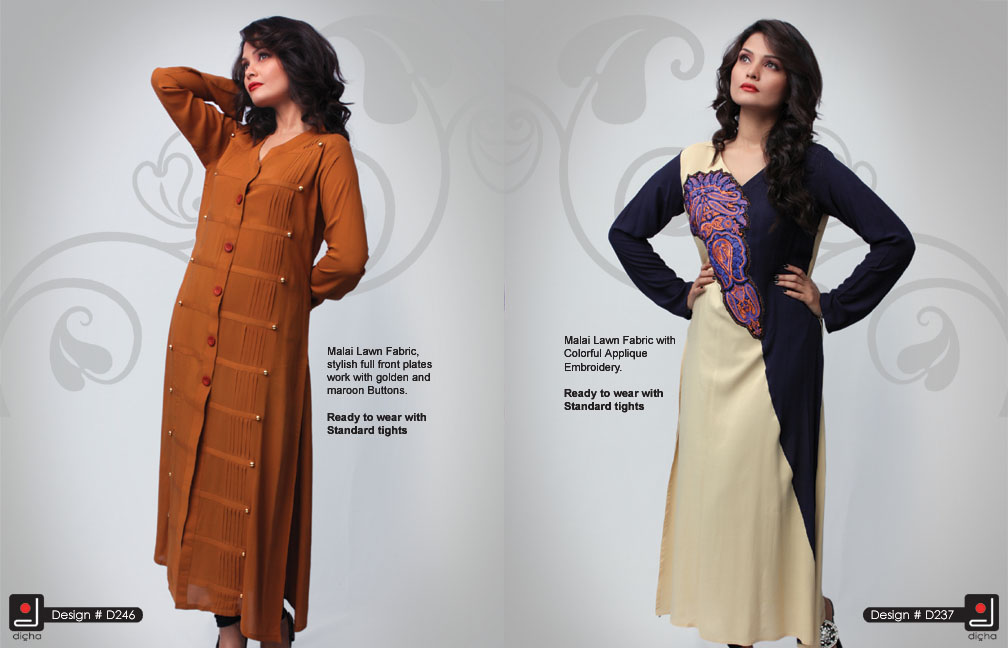 DichaEmbroideredClothing252812529 - Dicha Long Kurti Collection 2013