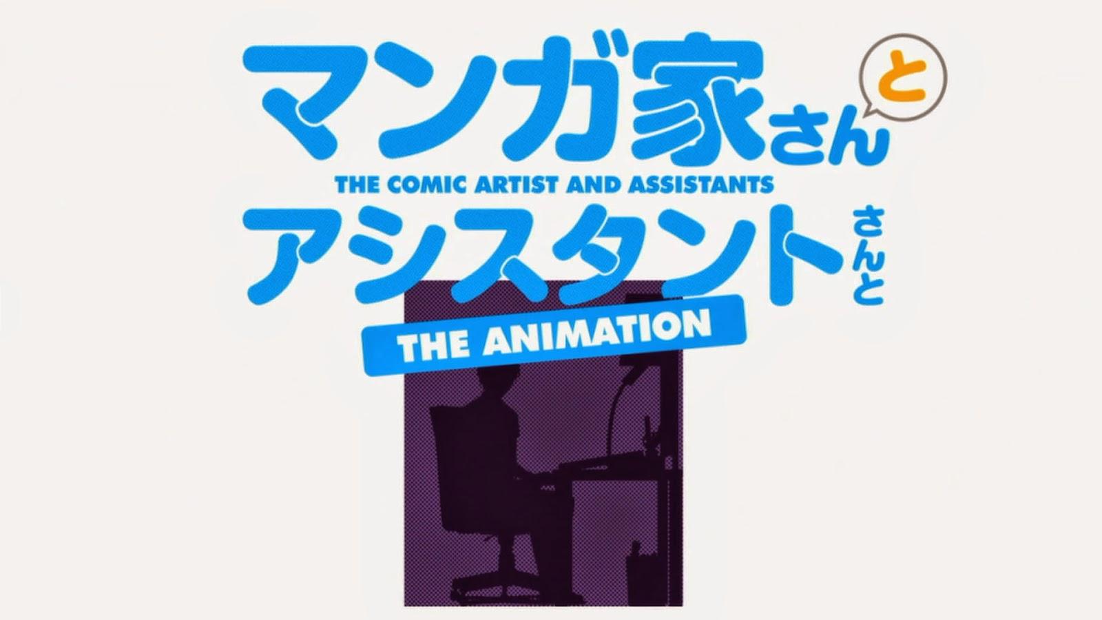 Mangaka-san to Assistant-san to Subtitle Indonesia [Batch]