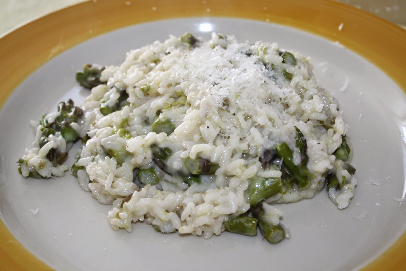 ricetta risotto con asparagi