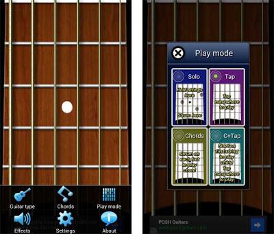 my guitar image 02 My Guitar, el toque en su móvil Samsung