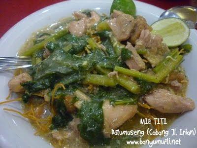 Kuliner Makassar - Mie Titi