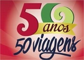 50 anos 50 viagens Supermercado Guanabara