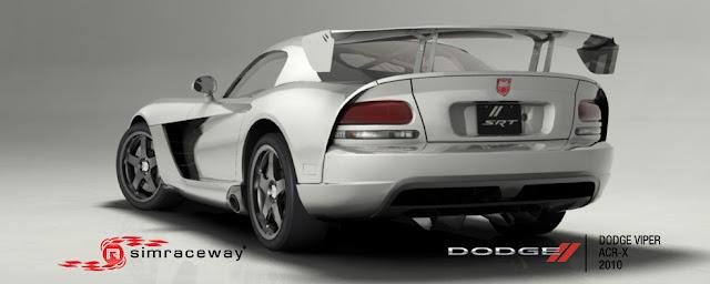 Simraceway nuevo coche Viper 2