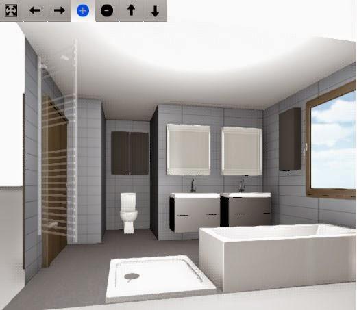 unser winkelbungalow das badezimmer. Black Bedroom Furniture Sets. Home Design Ideas