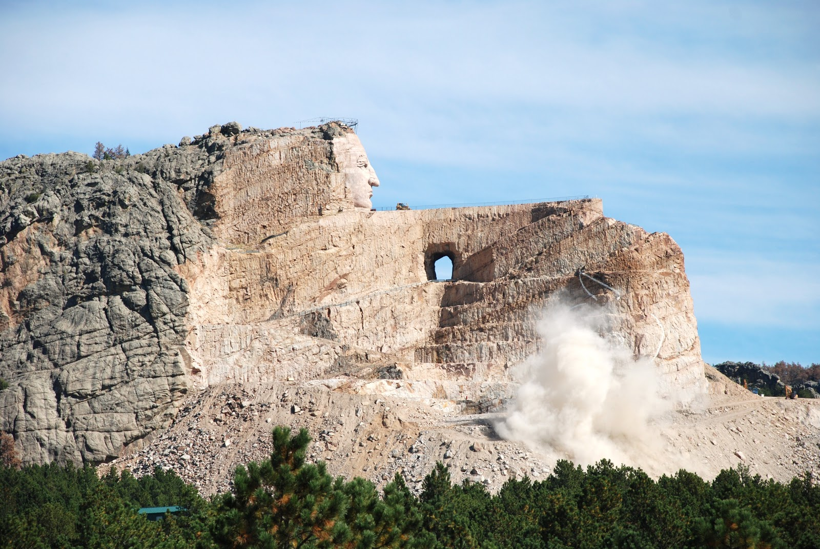 Pin Crazy Horse Monument Completion Sci Fi Wallpaper Album Sized on ...
