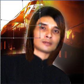 Membuat Efek Foto Menggulung Dengan Photoshop