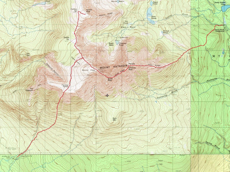 HockeyPucks hiking and highpointing: Mt. Katahdin - Baxter ...