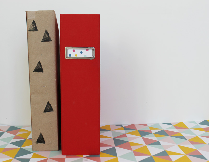 Harri wren diy magazine file boxes for Diy magazine box