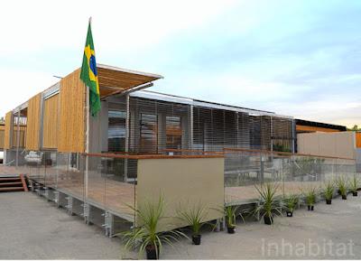 Eko House - proposta brasileira no Decathlon 2012