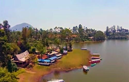 Tempat Wisata Situ Cileunca, Bandung