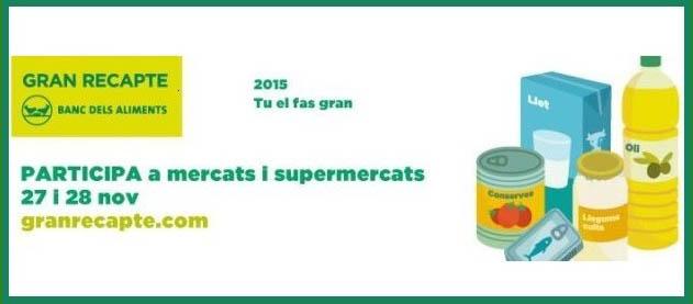 Gran recapte d'aliments 2015