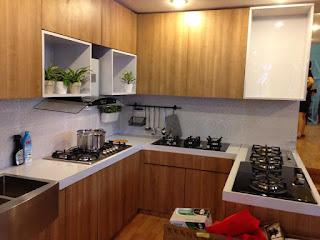 kontraktor pameran design dapur kitchen set
