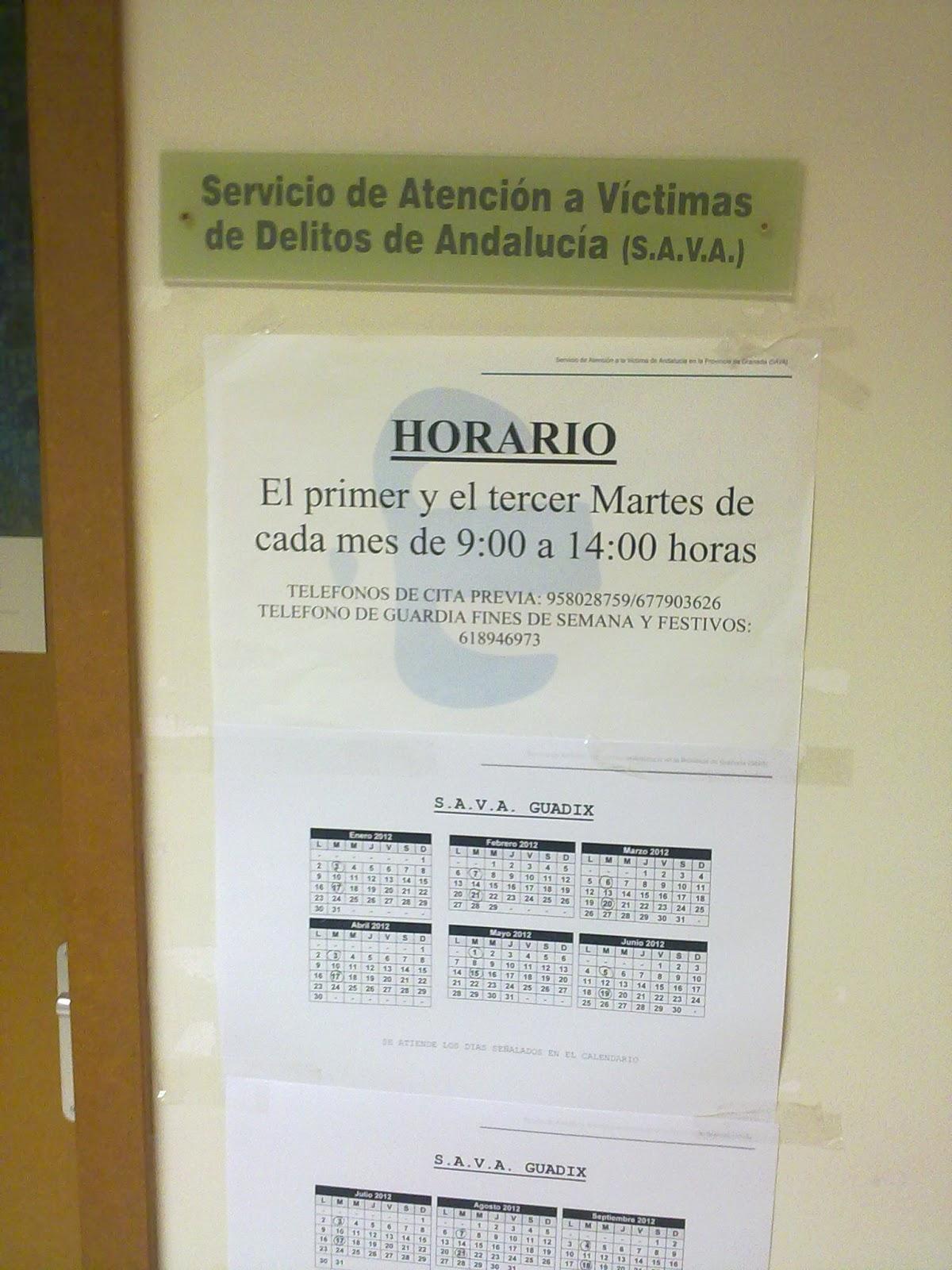 Todo derecho despacho jur dico servicio de atenci n a for Juzgado de guadix