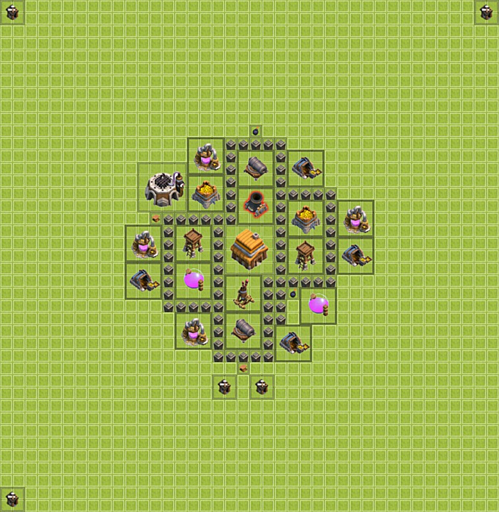 Build Clash Of Clan Hdv