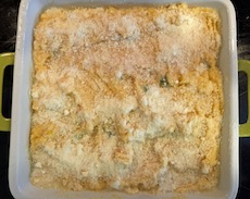Rutabaga, Rice and Corn Bake