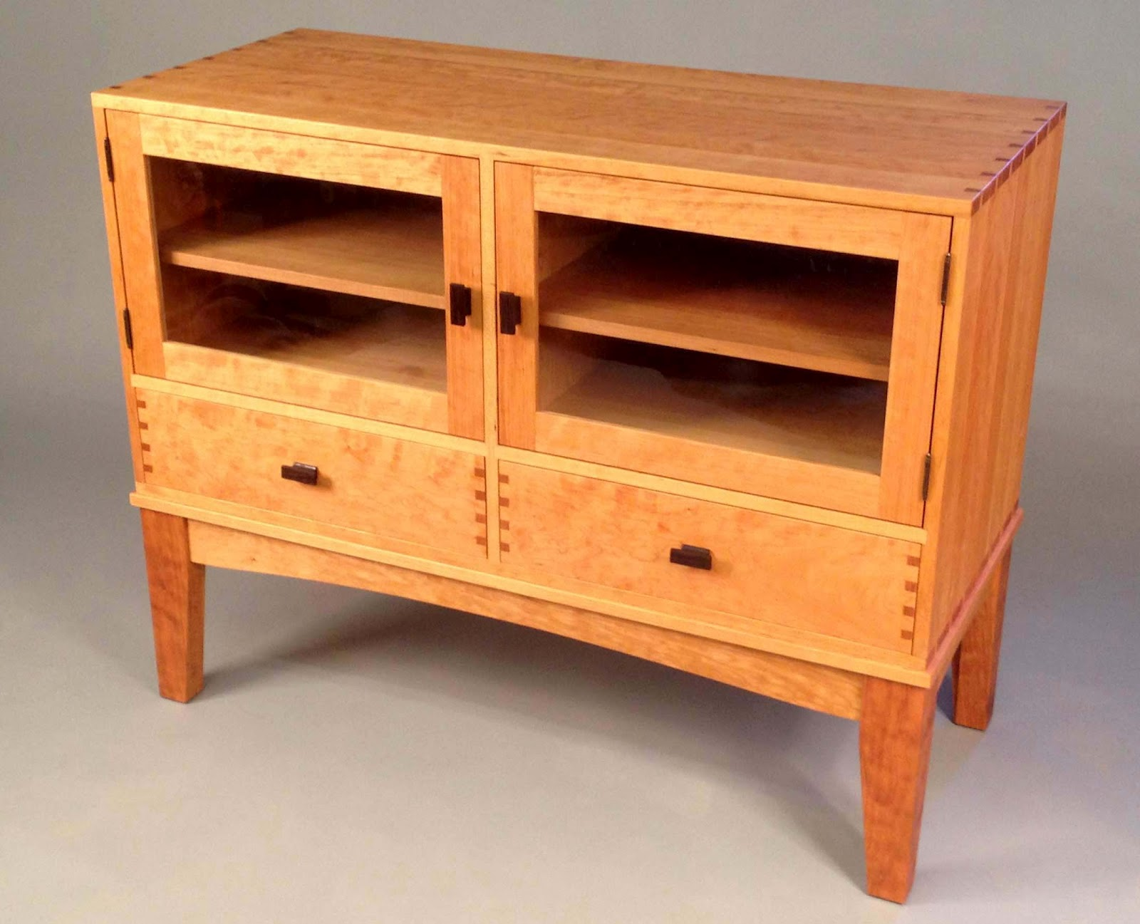 The Audio Visual Dovetailed Cabinet