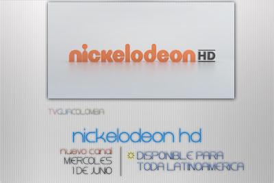 Nuevo Canal | Nickelodeon HD, en junio