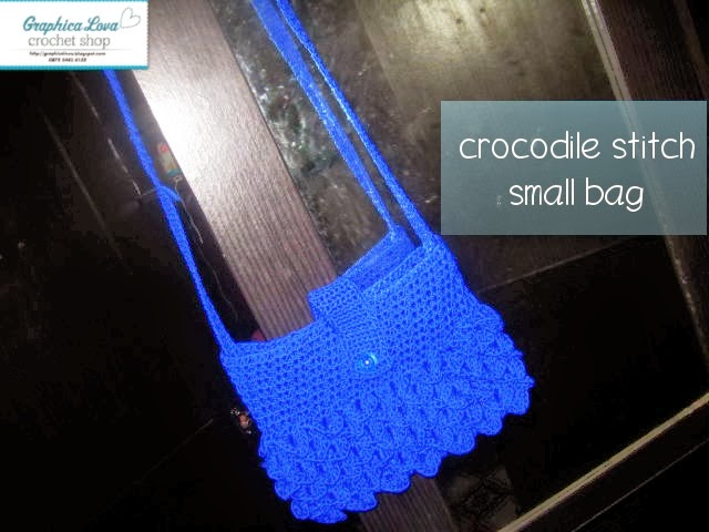 crocodile stitch bag