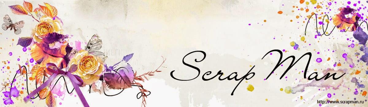 Интернет-магазин товаров для скрапбукинга ScrapMan