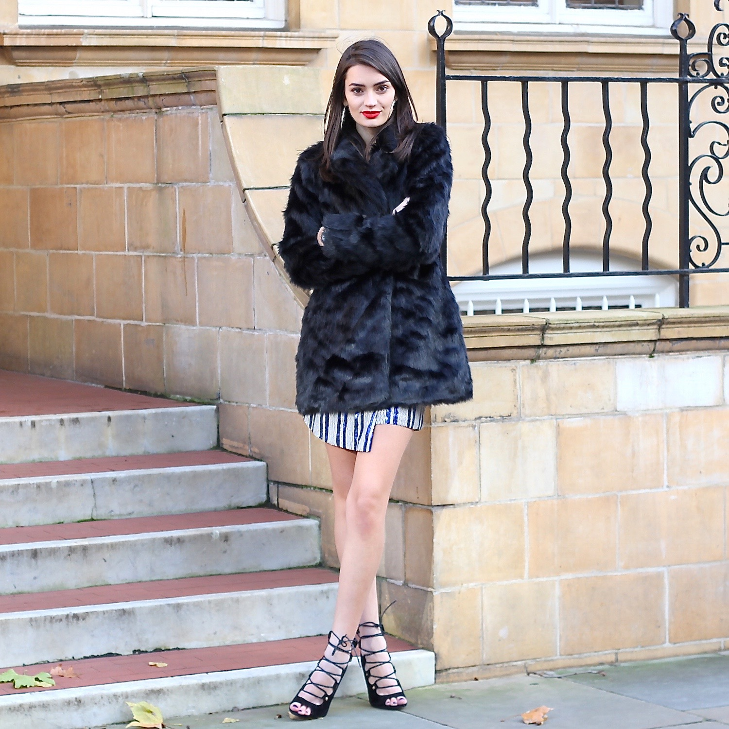peexo fashion blogger sparkle with boohoo