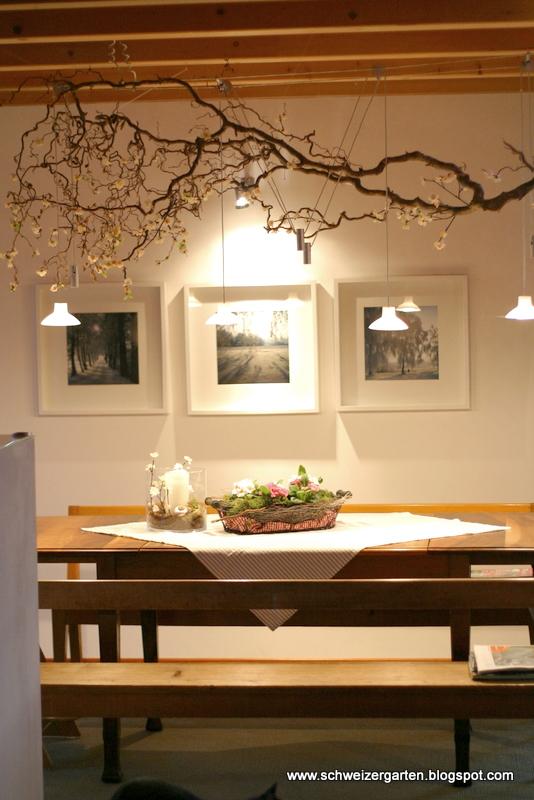 Esstisch Deko Alltag ~ Ein Schweizer Garten Kirschblüten im Februar und feine Küchendüfte