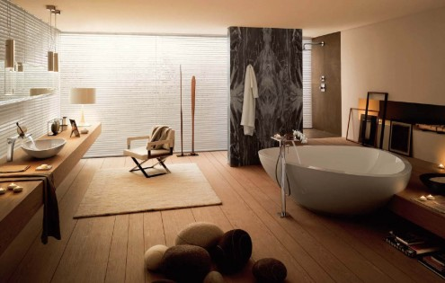 Inspiring Interiors a Luxurious Bathroom - Modern Home Minimalist ...