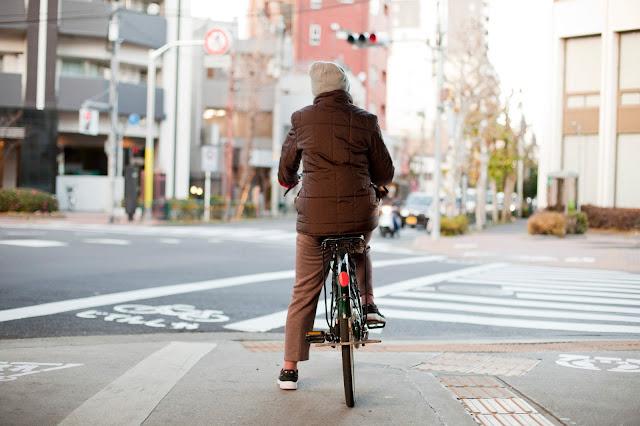 bicicleta en japon