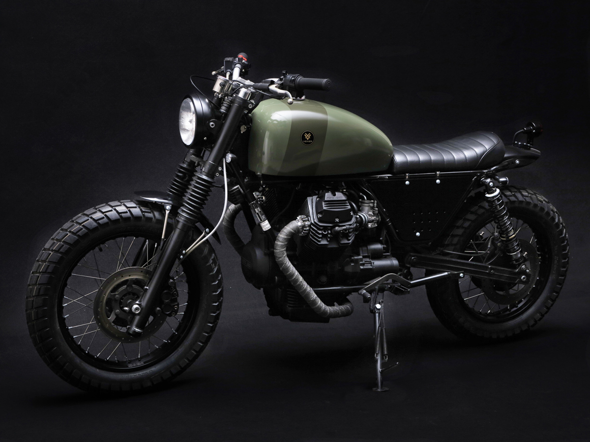 moto guzzi custom venier tractor v75 way2speed. Black Bedroom Furniture Sets. Home Design Ideas