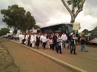 marcha contra la violencia en Mazamitla