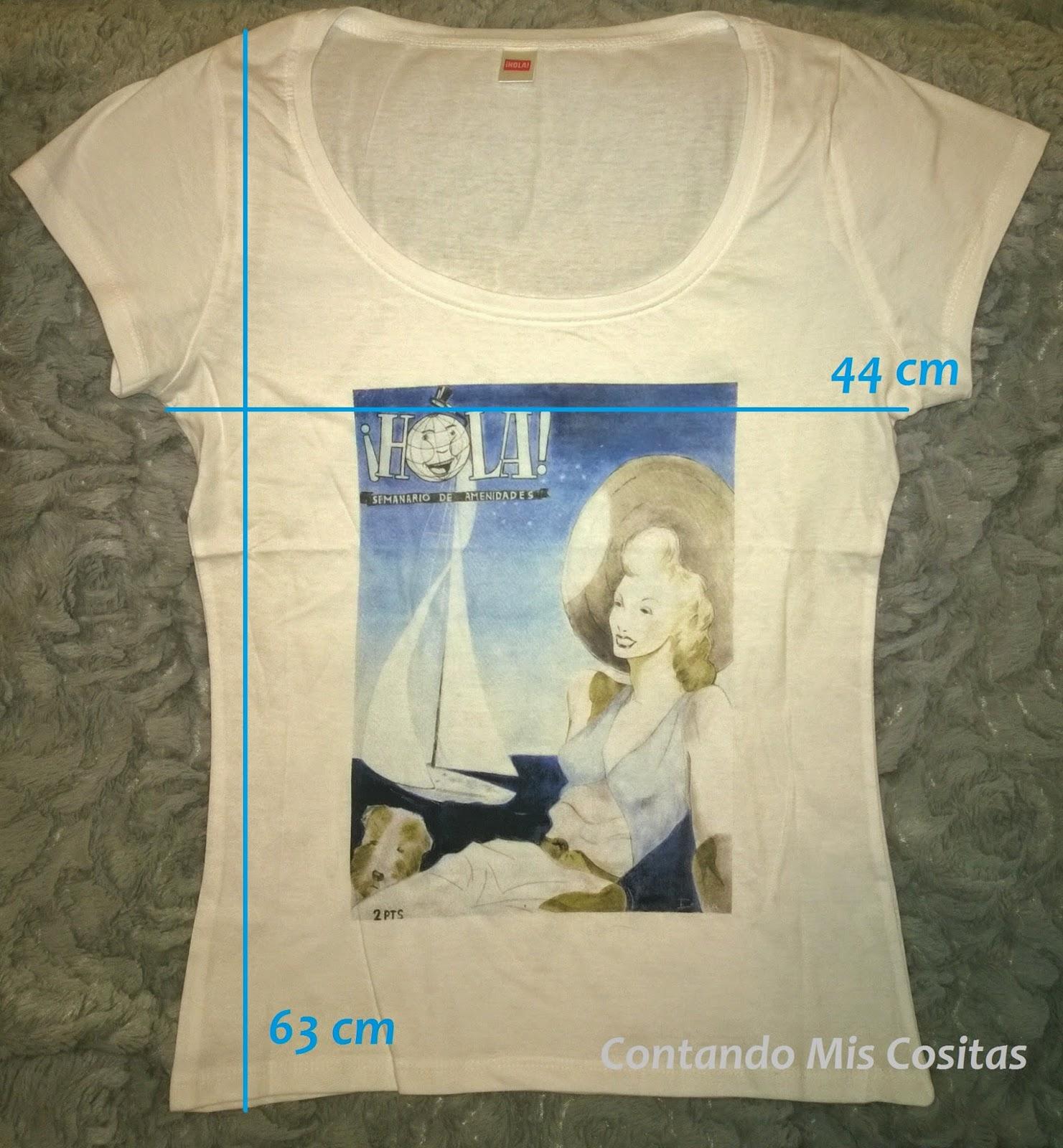 camiseta regalo revista hola marzo 2015