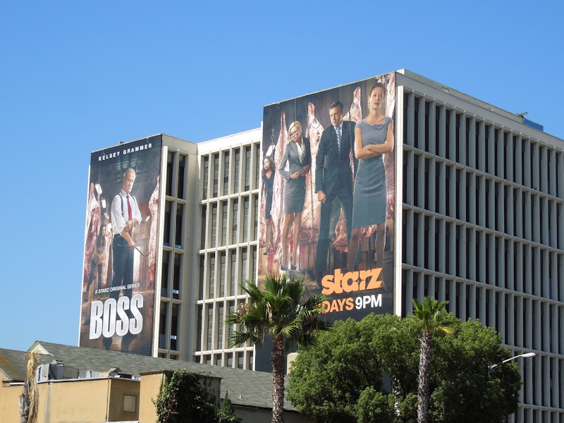 Giant Boss season 2 TV billboards