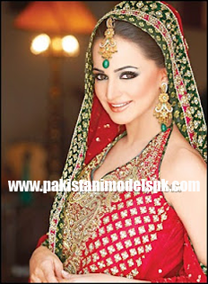 Noor Pakistani actress Model Hot Shot In Wedding Dressess