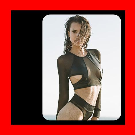 Emily Ratajkowski stars in Minimale Animale SS14 Campaign
