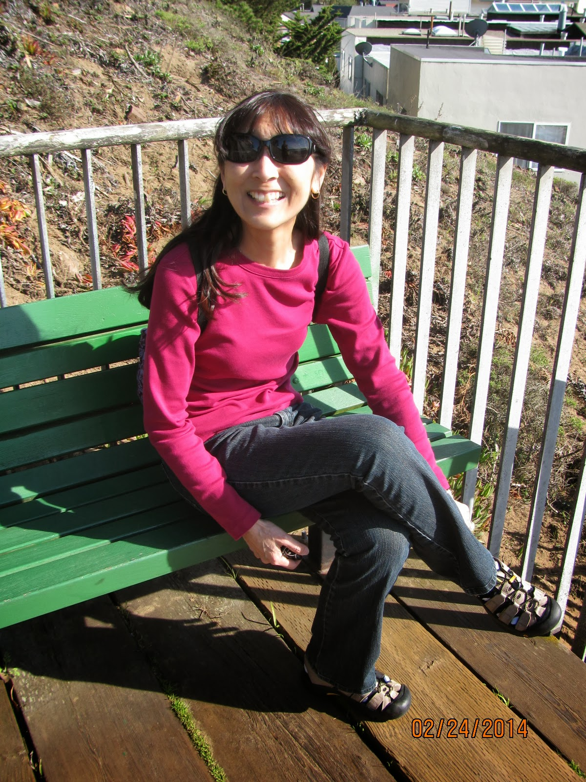 Grand View Park- Green Benches