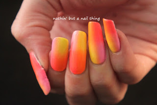 gradient nail art design ideas