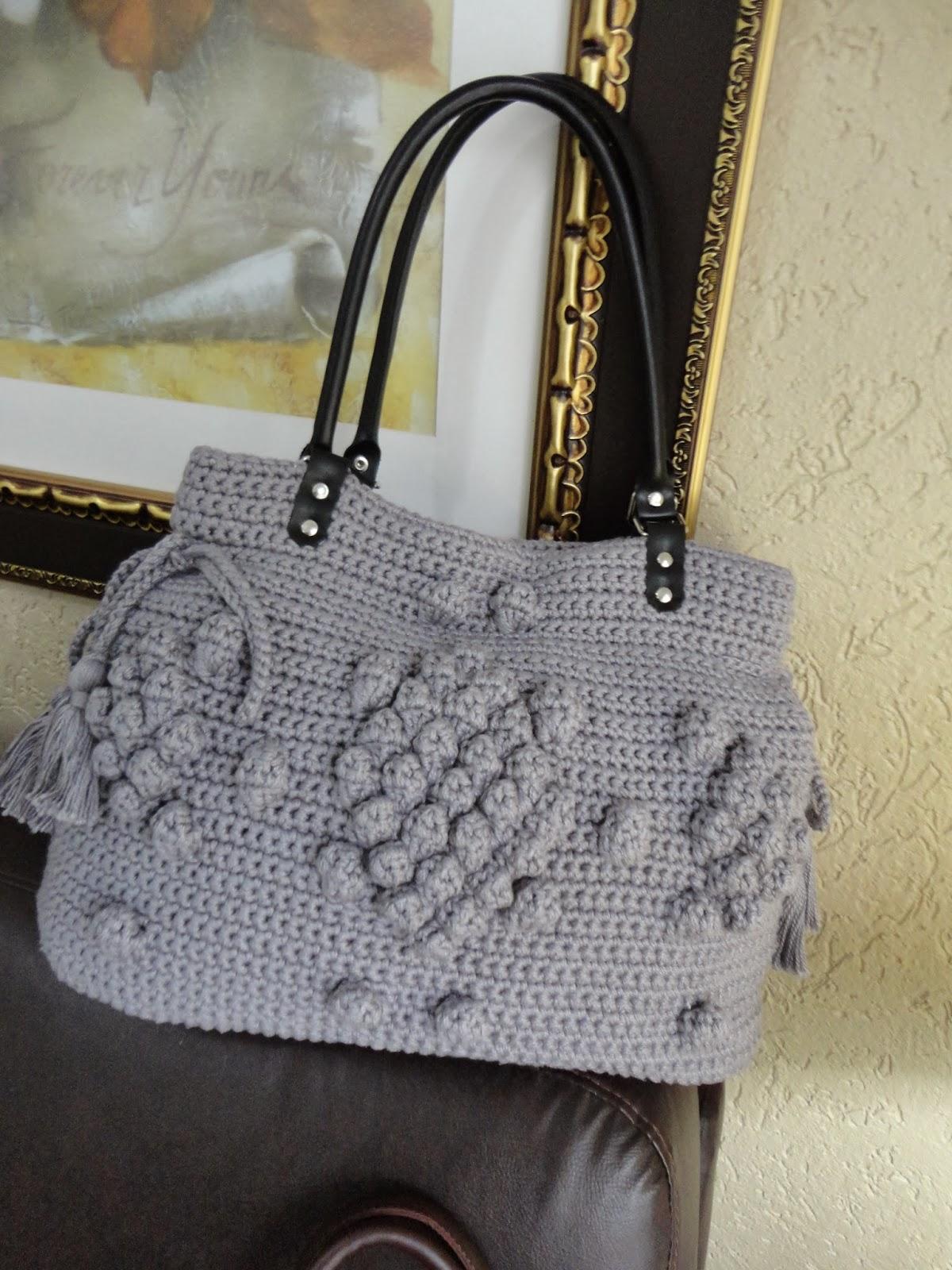 Bolsa De Mão Em Crochet : Toca do tricot e crochet bolsa de angelina jolie