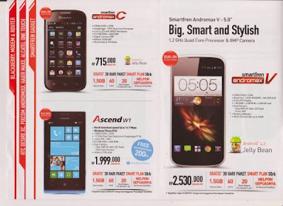 Harga Smartphone Smartfren di Indocomtech 2013