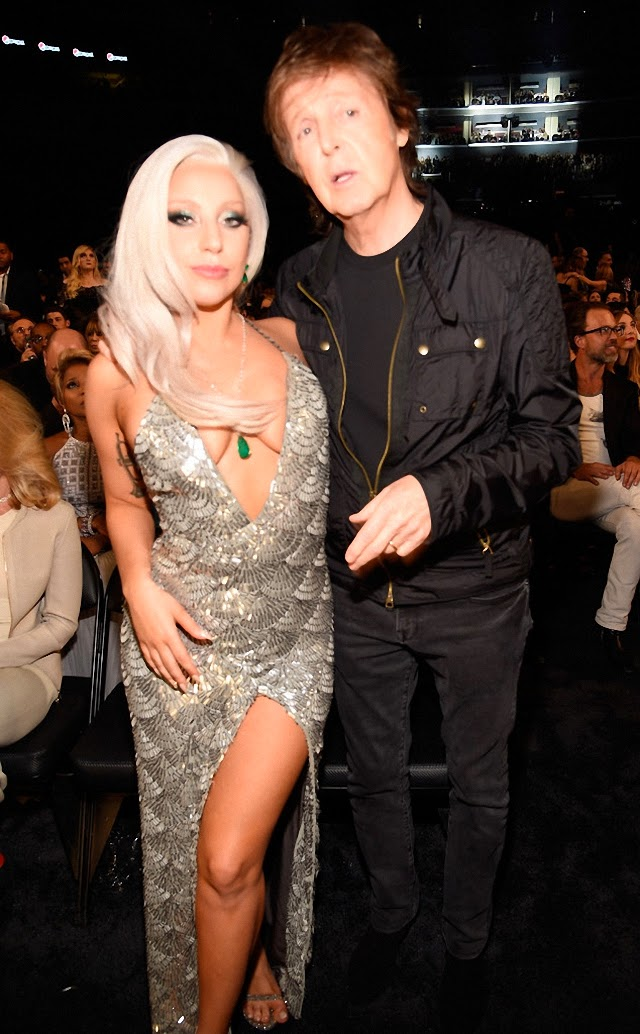 Lady Gaga y Paul Mc Cartney