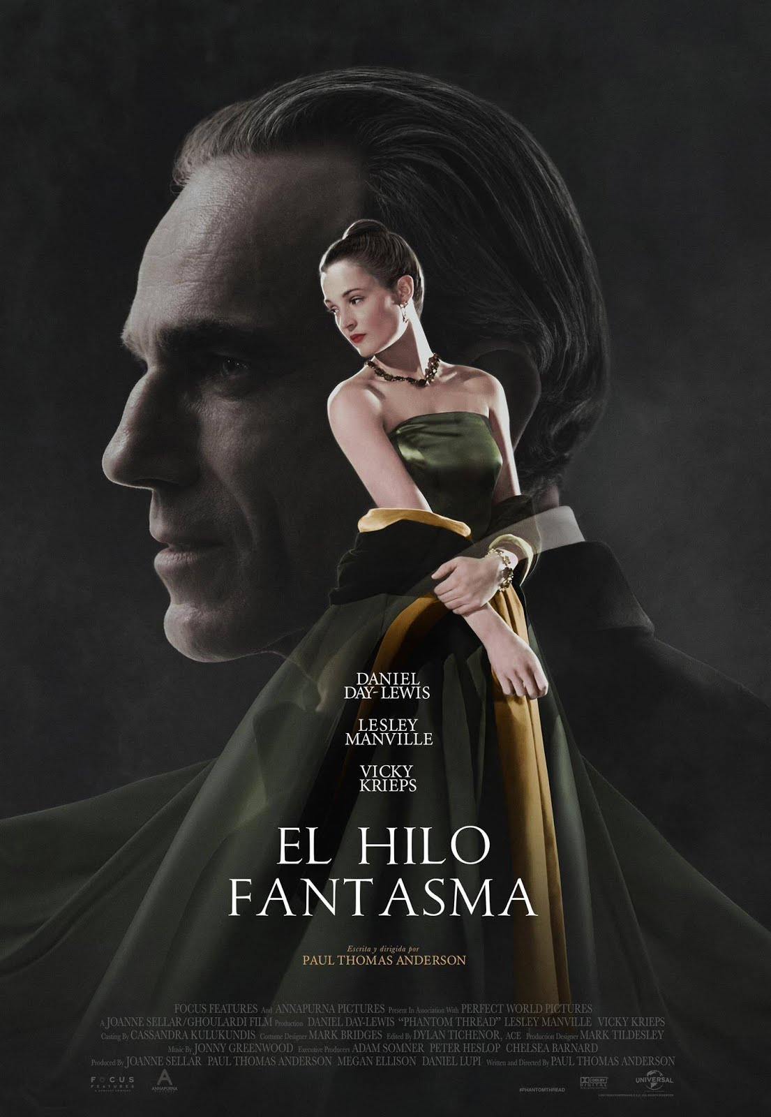 Poster de El Hilo Fantasma