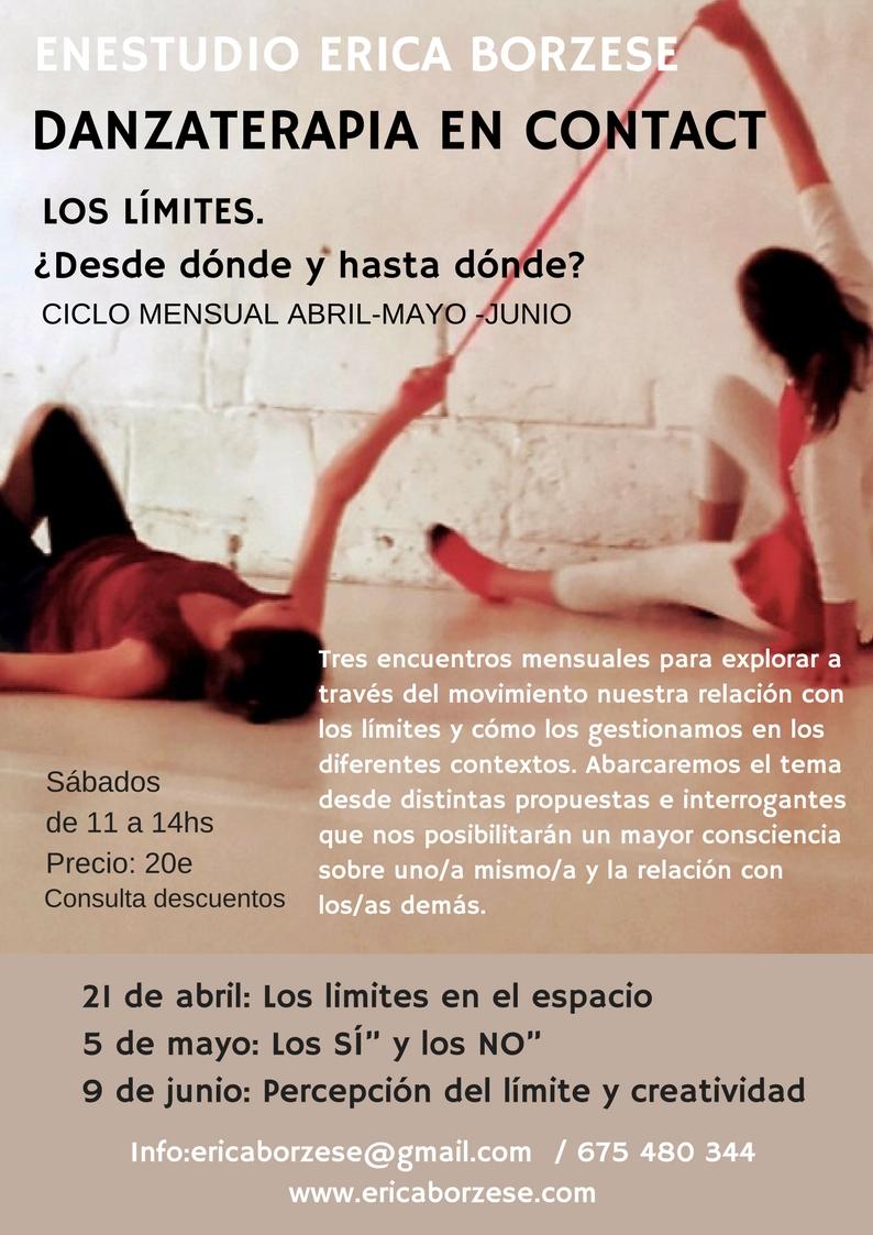 Danzaterapia en Contact CICLO: LÍMITES