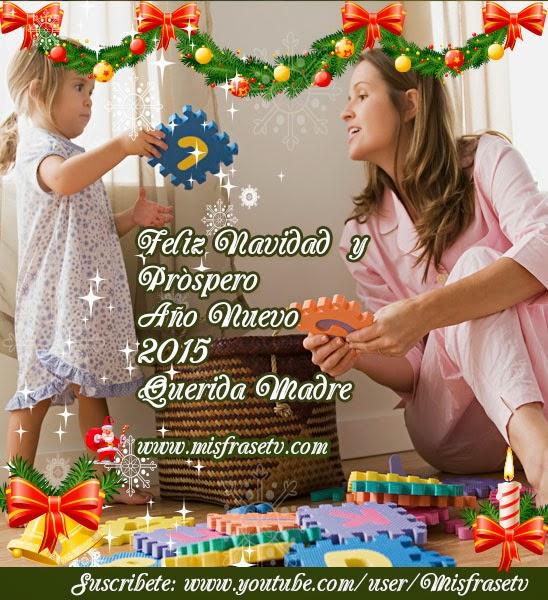 Frases de Navidad para Etiquetar a mi madre, Postales de Navidad para Etiquetar a mi Madre, Tarjetas Navideñas para mi Madre., Imágenes con Frases de Navidad y Año nuevo 2015,