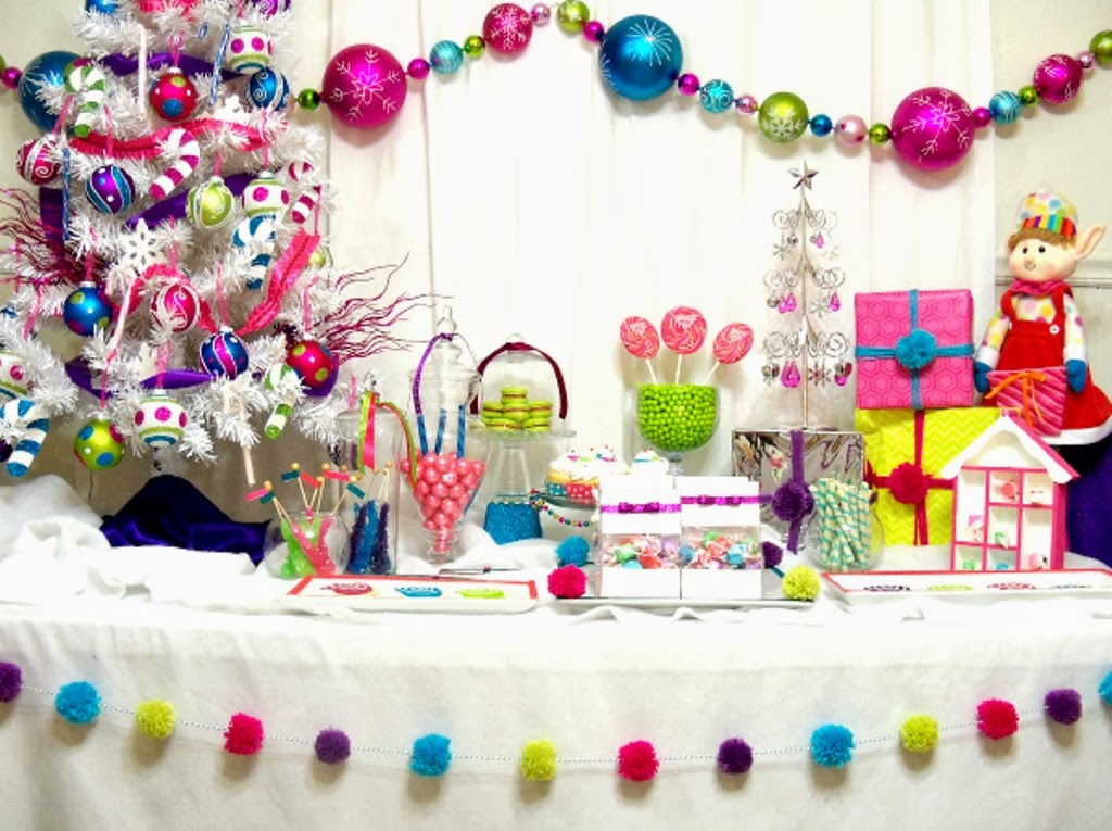 party styled merry bright christmas candyland - Candy Themed Christmas Decorations