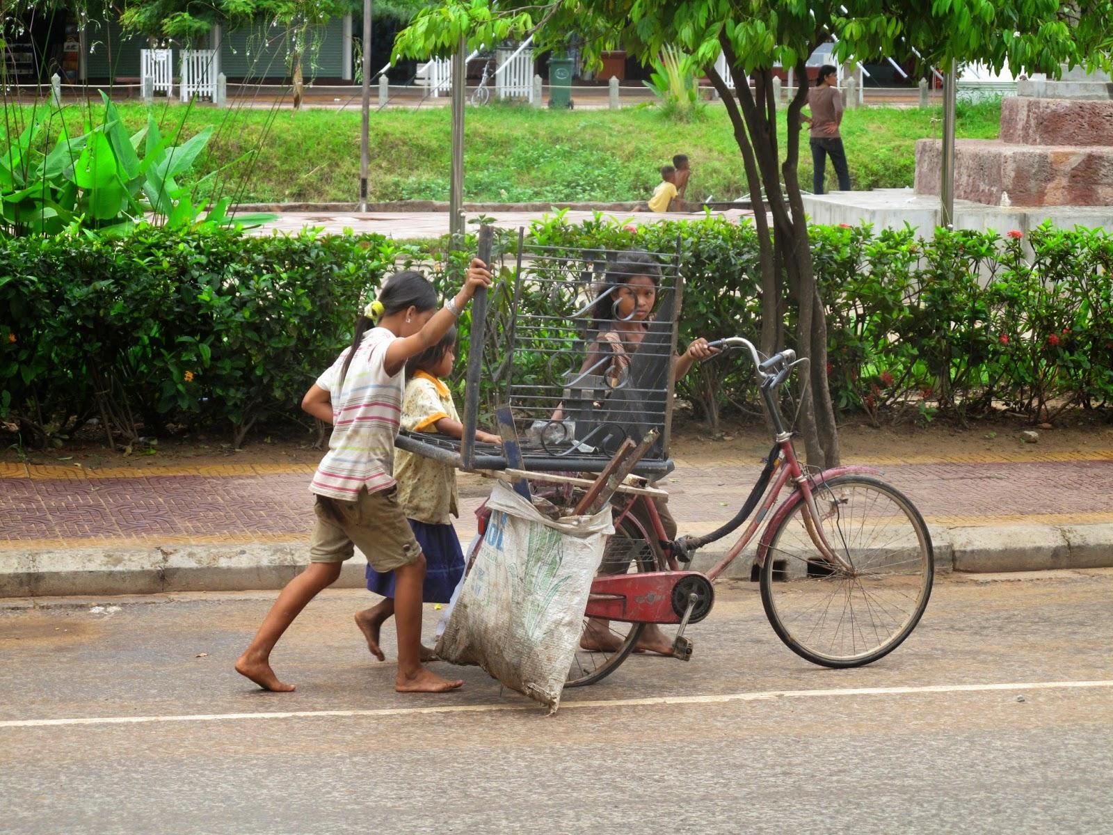 Trabajo infantil en Camboya