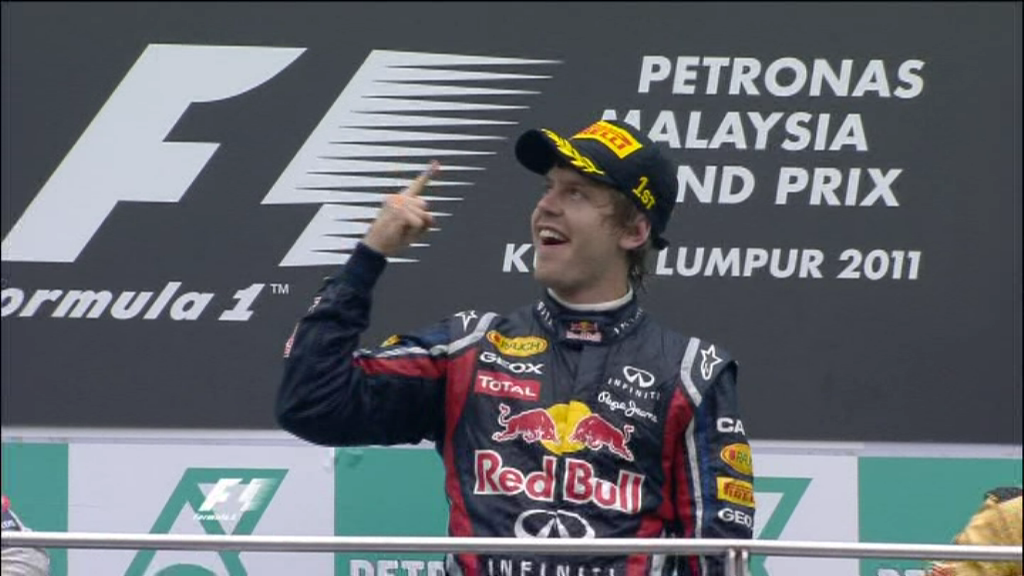bieber vettel. Vettel secures second victory