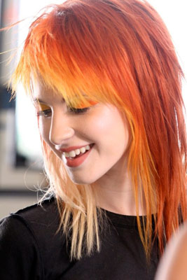 Hair Extensions Types Look Hot With Orange Hair Extensions