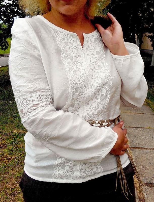 Блузка В Крестьянском Стиле