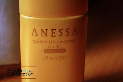 Salubrious Selection: Shiseido Anessa Perfect UV Sunscreen SPF 50+ PA++++