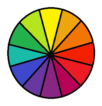 Draw A Star On The Analogous Colors In Color Wheels 8 Pts