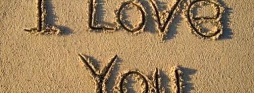 I Love You Text Art