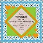 2 x Sweet Sketch Wednesday 2 Winner